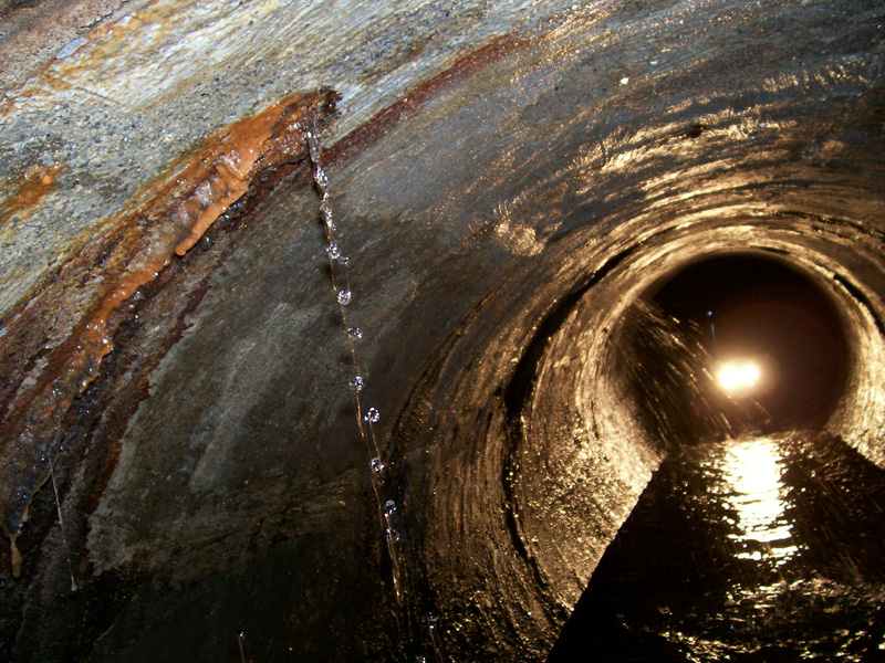 Chemical Grout Infiltration Repairs Trenchless Pipeflo