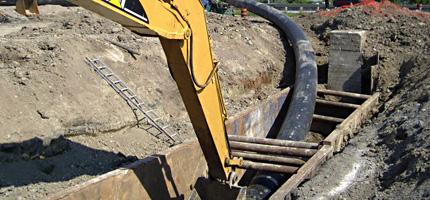 pipeline slip lining services