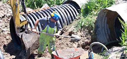 specialized pipeline water / wastewater services
